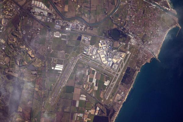 Jedno z mých nejoblíbenějších míst na celém světě: hlavní římské letiště Fiumicino (LIRF/FCO)