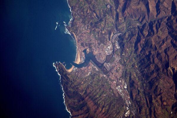 Země baskická – oblast Hendaye a francouzsko-španělská hranice