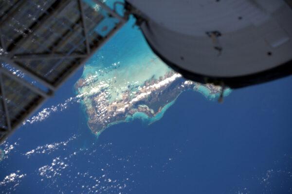 Náš Sojuz letí nad Karibikem. Jiné ruské vybavení bylo spatřeno v této oblasti, povětšinou na Kubě. ;)
