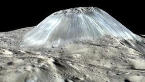 Ahuna Mons na Ceres