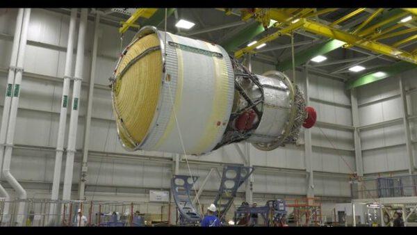 ICPS pro misi EM-1