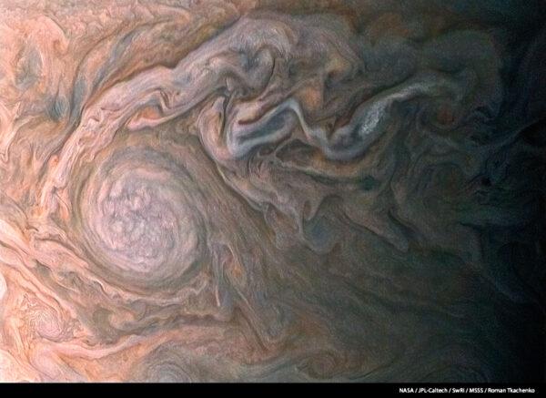 Tohle není abstraktní umění, ale snímek, který zpracoval Roman Tkachenko/Caltech-37