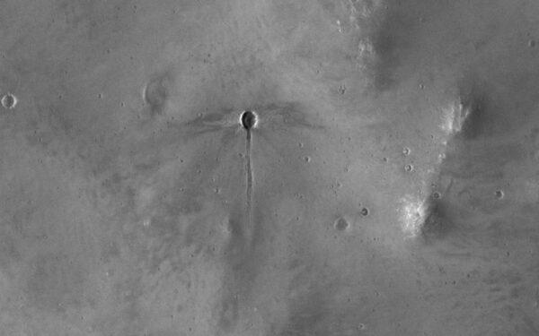 Motýlí kráter na Marsu