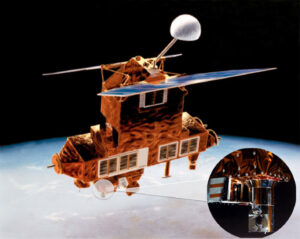 Družice ERBS s přístrojem SAGE II
