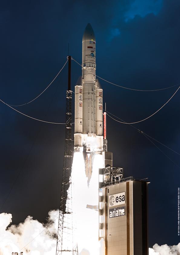 Ariane 5 startuje