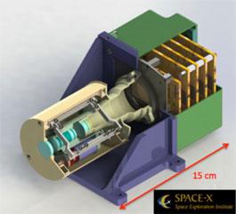Počítačový model kamery CLUPI