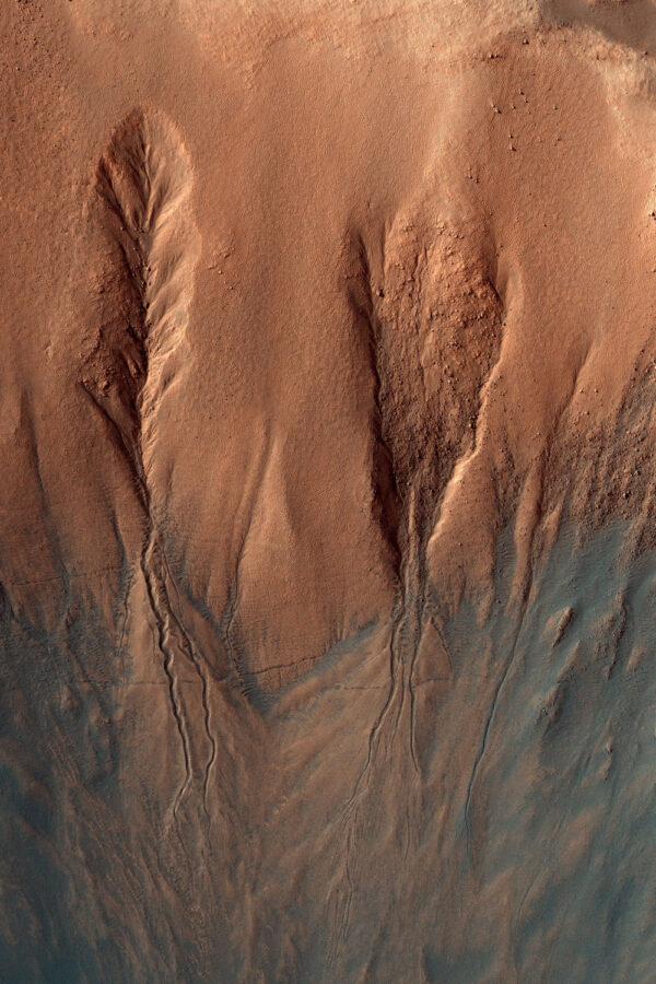 Snímek ze sondy MRO