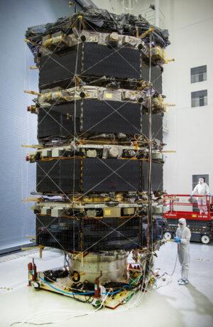 Čtyři družice MMS připravené ke startu