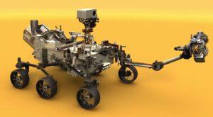 Vizualizace Mars rover 2020