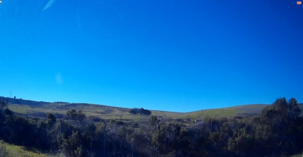 Takovéto počasí na Vandenbergu je opravdu rarita… Modrá obloha bez mraků a bez větru.