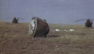 Návratový modul Sojuz-11 a tři nehybná těla - tragický konec historicky první expedice na orbitální stanici...