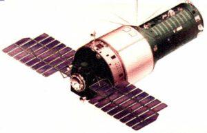 Celkový pohled na stanici typu Almaz