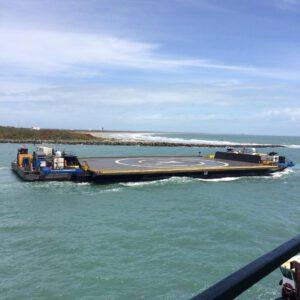OCISLY vyplouvá na moře - archivní snímek
