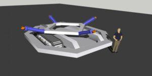 Několik týdnů stará fanouškovská vizualizace robota Roomba.