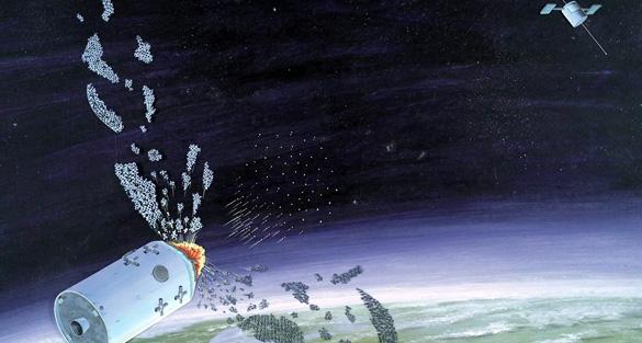 návrh sovětské proti-družicové zbraně zdroj: wikimedia.org