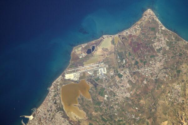 Letiště Larnaca na Kypru. LCA/LCLK.