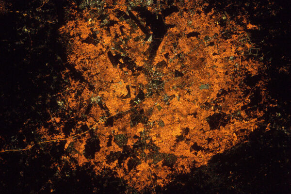 Bangalore v Indii. Je to opravdu zvláštní, jak města v noci vypadají úplně jinak.