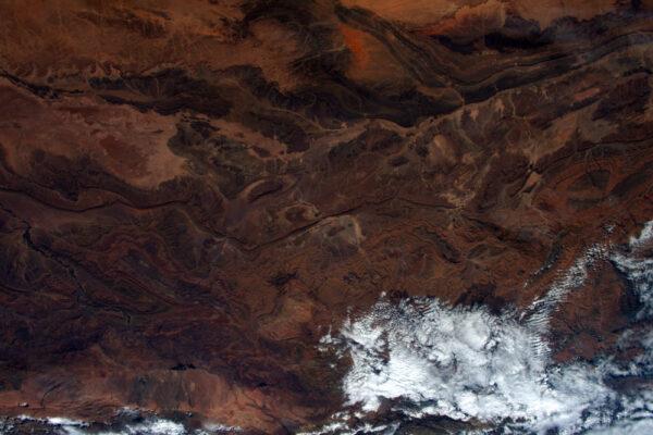 Další pouštní umění západní Sahary.