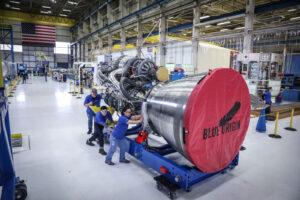 Sestavený motor BE-4