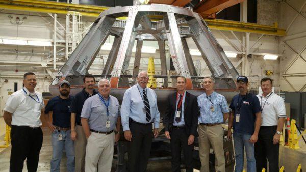 Testovací exemplář Orionu pro AA-2, září 2016