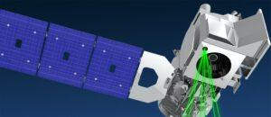 Vizualizace družice ICESat-2
