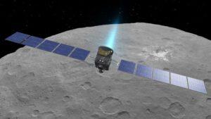 Sonda Dawn hledá krátery s vodním ledem