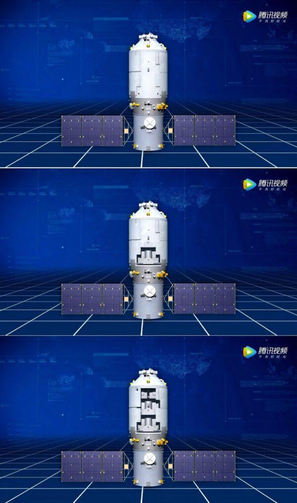 Konfigurace lodi Tianzhou