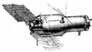 Vzhled stanice typu Almaz