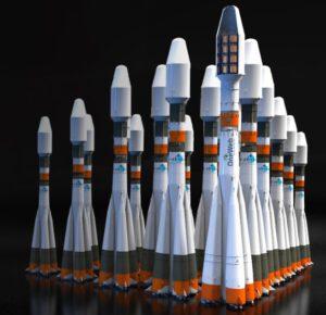 Rakety Sojuz mají být hlavním prostředkem k vynesení stovek družic OneWeb.