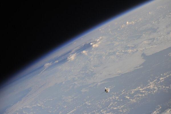 Zde ze Země přilétají další dva členové Expedice 51!