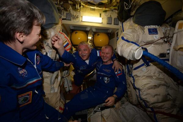 Fjodor už zde dříve byl, avšak lety do vesmíru nikdy neomrzí!