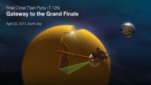 Při tomto průletu se Cassini pokusí změřit hloubku a složení menších jezer na Titanu.