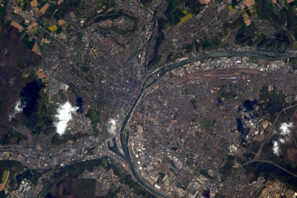Rouen, hlavní město regionu, kde jsem absolvoval část svých studií na Lycée Pierre Corneille!