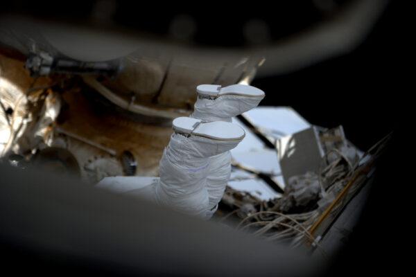 (1/2) Tyhle boty jsou vyrobeny pro vesmírné vycházky ;)