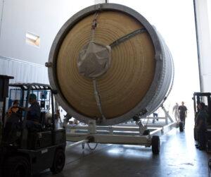 Přesun ICPS z haly HIF do Delta Operations Center