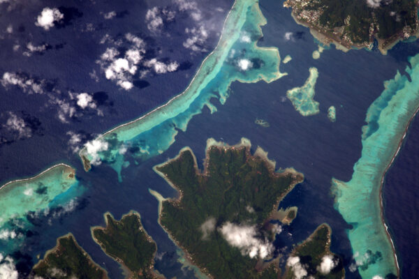 Další ráj u protinožců: Tahiti a Francouzská Polynésie.
