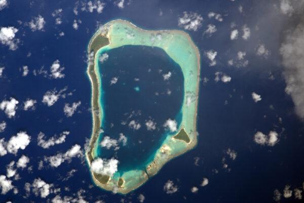 Atol ve Francouzské Polynésii (nejsem si úplně přesně jistý, který to je!)