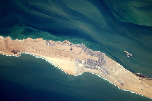 Působivé letiště. Je na vás, říct, kde je. Nápověda: nachází se v Africe nebo na Středním východě.