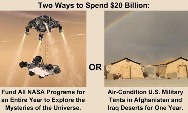 Jak lze využít 20 miliard amerických dolarů?