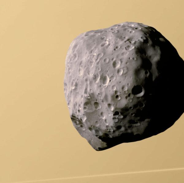 Epimetheus vyfocený sondou Cassini