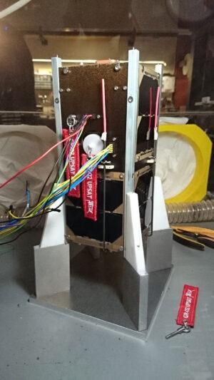 Montáž družice UPSat
