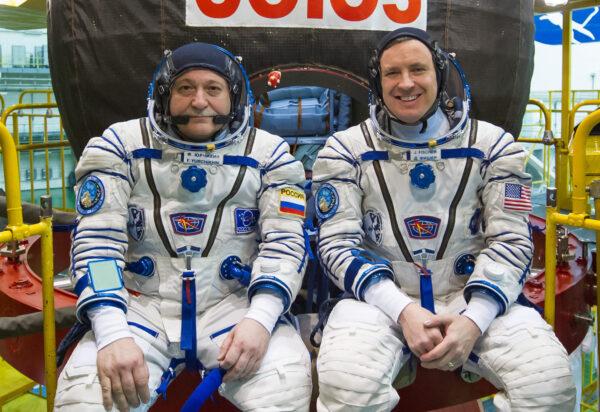 Posádka Sojuzu MS-04 - Fjodor Jurčichin a Jack Fischer