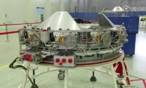 Dokovací systém APAS - tento byl určen pro orbitální laboratoř Tiangong-2.
