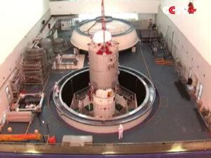 Pozemní testování lodi Tiančou