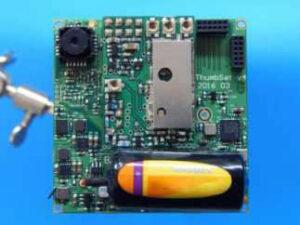 Byly vyrobeny plně funkční tři kusy ověřovací série jednodeskového satelitu, podobnému družicím ChipSat