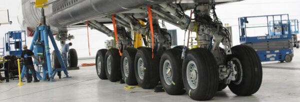 Podvozek letounu Stratolaunch