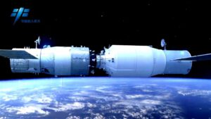 Komplex lodi Tiančou-1 a orbitální laboratoře Tiangong-2