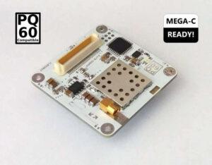 Přijímač pqADS-B pro sledování leteckého provozu z vesmíru
