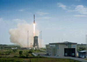 Start Sojuzu z Kourou s družicí SES-15