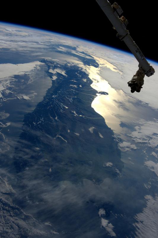 Zdravím Nový Zéland. Jižní ostrov je pod dohledem naší robotické paže ;)